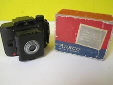 Vintage Ansco  Clipper JN 168 616 Ffilm Pop-Out Camera in Black w/ Original Box