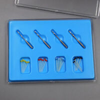 1Box Fiber Post Dentist Product Kit AA Dental Screw 4 Drills Fiber 20 Pcs Screw