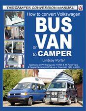 How to Convert Volkswagen T3 T25 & T4 Bus or Van to Camper book paper