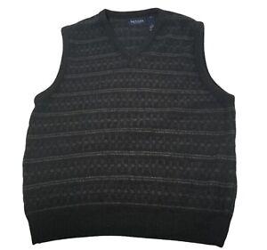 VAN HEUSEN Men's VEST Dark Grey And Dark Blue Size L