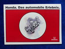 Honda Programm - Civic CRX Accord Legend NSX - Prospekt Brochure 05.1996