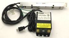 EXAIR Super Ion Air Knife With 111012 Ionizing Bar & 7901 Power Supply
