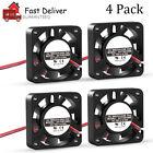 4PCS DC12V Cooling Computer Case Fan 4010 40x40x10mm PC 3D Printer 2Pin US Stock