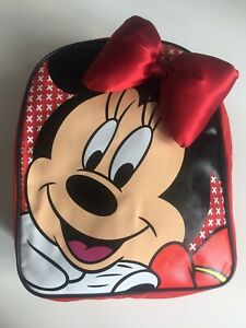 DISNEY Minnie Mouse Red Girls Backpack