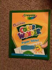 kids art crayola color wonder paper tablet mess free