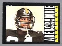 6 ~~ WALTER ABERCROMBIE FOOTBALL CARDS~~INCLUDES HIS ROOKIE!!
