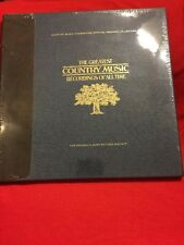 FRANKLIN MINT The Greatest Country Music Recording Of All Time -BRAND NEW/SEALED