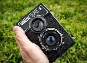 Vintage LUBITEL 166B LOMO film Camera Soviet USSR TLR Medium Format 6x6  DSLR