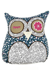 Vintage Retro Owl Shaped Filled Owl Cushion Fun Cushion - 3 Designs