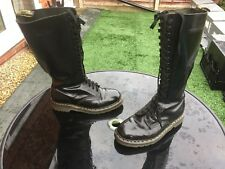 Vintage Dr Martens 1420 black smooth leather boots UK 9 EU 43