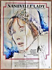 Raymond MORETTI * 1981 * NASHVILLE LADY * Affiche Originale 120 x 160 cm