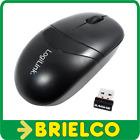 RATON OPTICO INALAMBRICO 1000DPI CON RECEPTOR USB 2.4GHZ 3 BOTONES 1XAA BD11338