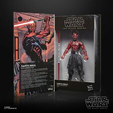 "Star Wars Black Series 6"" Darth Maul Sith Apprentice Figure Lucasfilm 50th Ann"