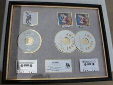 Amy Grant & Bryan Adams Platinum & 2x RIAA Record Sales Award A&M Waking Heart