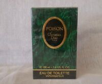 POISON CHRISTIAN DIOR eau de toilette 100ml spray, vintage