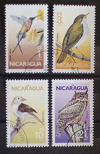Nicaragua 1986 Birds Used