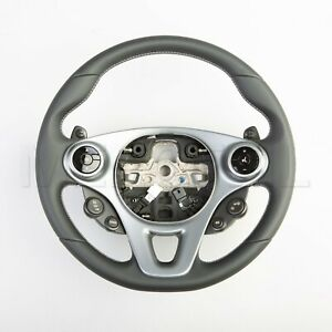 New Genuine SMART BRABUS Leather STEERING WHEEL for 453 ForTwo, ForFour