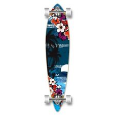Yocaher Pintail Tropical Night Longboard Complete