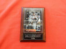 Dale Earnhardt Autographed 2000/ 2001 Winners Circle Card & Plaque Certified ICS