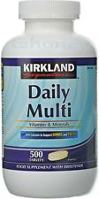 Kirkland Signature Daily Multi Vitamins & Minerals Pack of 500 Tablets