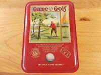 FIRST EDITION-GAME OF GOLF VINTAGE GAME SERIES-Self contained in a tin box-2004