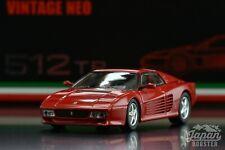 [TOMICA LIMITED VINTAGE NEO 1/64] Ferrari 512TR (Red)