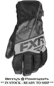 FXR Men's Fuel Short Cuff Glove Insulated Snowmobile Winter Snow Waterproof