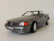 1 18 Norev Mercedes 500 SL R129 Roadster 1989 Greymetallic