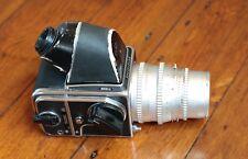 Hasselblad 503CX w/ 12 Exp. Back / 45 Prism / 150mm Chrome Sonnar -  Works