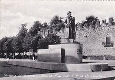 BASSANO DEL GRAPPA - Mon. al Maresciallo d'Italia G.Giardino 1954