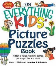 The Everything Kids' Picture Puzzles Book: Hidden Pictures, Matching Games, Pat