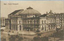Bari Teatro Petruzzelli -  Viaggiata 1922 Animata
