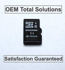 Toyota Sequoia Navigation Micro SD HC Card Map Data 86271-35010 8627135010