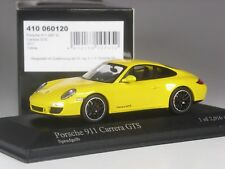 Klasse: Minichamps Porsche 911 Carrera GTS 2011 gelb in 1:43 in OVP