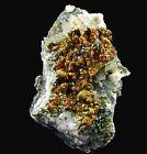 Pyrite Crystals on Calcite North Mine, Broken Hill Australia (187821) mineral