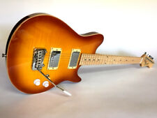 NEW EVH WOLFGANG STYLE 6 STRING FLAME MAPLE ELECTRIC OFFSET BURST GUITAR + CASE