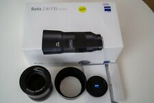 Zeiss Batis 135mm F2.8 Sony E mount for Sony A9 A7RIII A7III A7RII