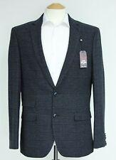 Men's Harry Brown Navy check Blazer (40R)... sample 569