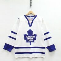 Vintage Toronto Maple Leafs CCM Jersey Size Small NHL Hockey Stitched