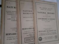 Catálogo Natural History N º 774-766-796 1957-59 B. Quaritch Ltd. London