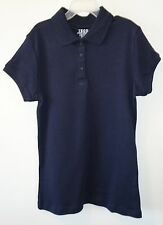 Brand New Izod Navy Polo Top Size Large 12/14