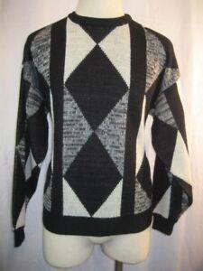 Mens NWOT Peter Jon  Color Block Crew Neck Pullover Casual Sweater sz XL