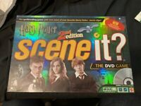 NEW SEALED HARRY POTTER 2ND EDITION SCENE IT DVD BOARD GAME