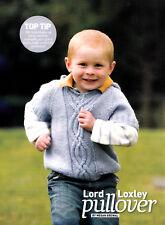 KNITTING PATTERN BABY TODDLER CHILD HOODIE PULLOVER & LADIES VEST TOP OKM AUA