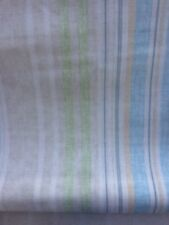 Laura Ashley Carey Stripe Fabric - Chalk Blue - 1m (Pls Ask If More Is Required)