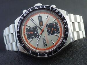 Vintage Seiko 6138-0030 Speed-Timer Automatic Chronograph Mens Watch KAKUME