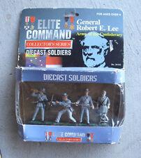 Blue Box Diecast Soldiers General Lee Elite Command Set of 4 NIB