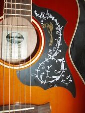 Acoustic Guitar Scratch Plate Pickguard self adhesive size shown. # 7 large