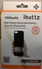 ibattz Mojo Classic 1500 Charger Case for iPhone 4/iPhone 4S - Retail Packag