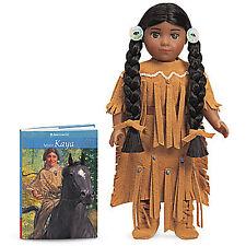 "American Girl KAYA MINI DOLL 6"" & Book NEW in Box Horse Teepee Saddle Indian"